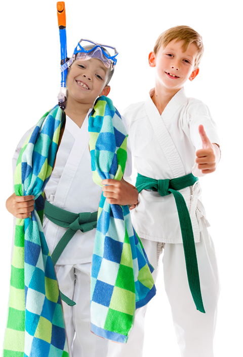 summer camp karate kids